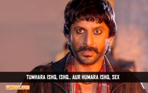 Hindi Movie Adult Dialogues | Arshad Warsi in Ishqiya
