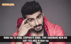 Arjun Kapoor Dialogues From Hindi Movie Ki and Ka
