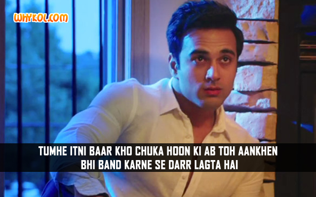 Hindi Romantic Movie Quotes | Pulkit Samrat in Sanam Re