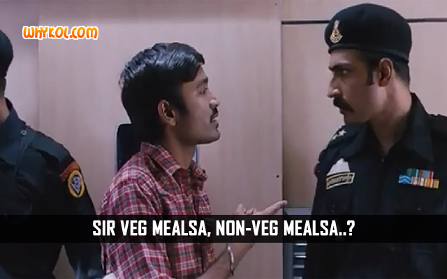 Dhanush Jokes | Dialogues From The Movie Thodari