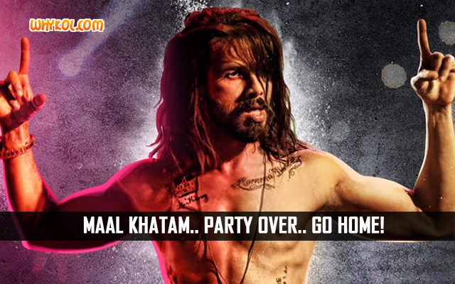 Shahid Kapoor Dialogues From Udta Punjab