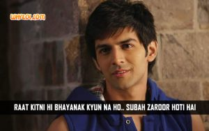 Kartik Tiwari Bollywood Movie Quotes | Akaash Vani