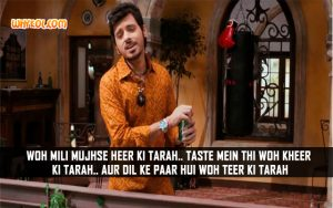 Bolllywood Love Shayari | Romantic Hindi Quotes | Divyendu Sharma