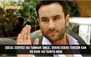 Bollywood Love Quotes | Saif Ali Khan Dialogues From Cocktail