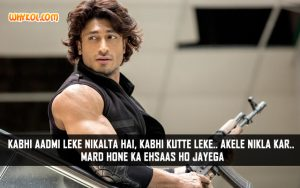 Vidyut Jamwal Action Dialogues From Commando