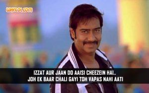 Hindi Life Quotes From Movies | Himmatwala