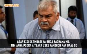 Sharat Saxena Dialogues From The Movie John Day