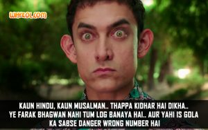 Aamir Khan Inspirational Quotes From The Film PK