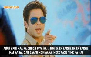 Shahid Kapoor Comedy Dialogues From Phata Poster Nikhla Hero