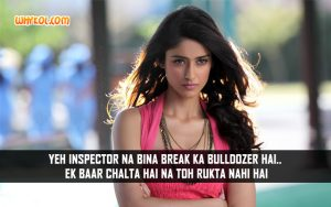 Ileana Dialogues From Hindi Movie Phata Poster Nikhla Hero