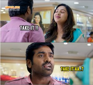 Vijay Sethupathi Comedy Scenes From The Movie Rekka