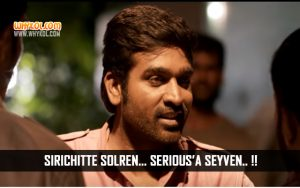 Vijay Sethupathi Punch Dialogues From Rekka