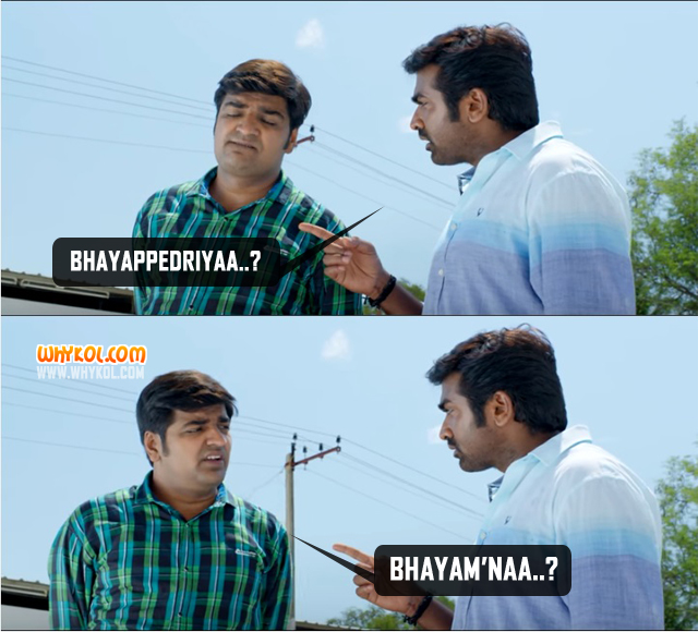 Comedy Dialogues From Rekka | Tamil Movie Dialogues