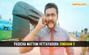 S3 Tamil Movie Dialogues | Suriya Punch Dialogues From Singam 3