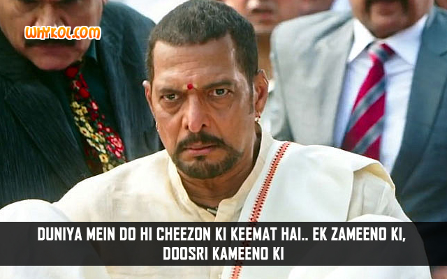 Nana Patekar Funny Dialogues | Welcome Back