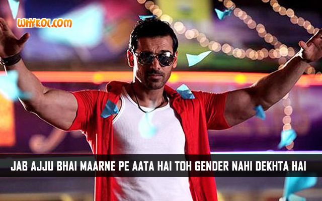 Famous Dialogues From The Movie Welcome Back