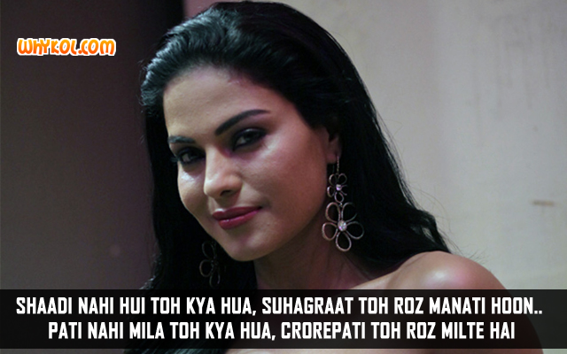Veena Malik Adult Comedy Hindi Dialogues | Zindagi 50 50