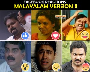 Facebook Reactions In Malayalam Version | Jokes