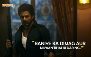 Baniye Ka Dimag | Dialogues From The Movie Raees