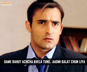 Akshaye Khanna Dialogues From The Movie Deewangee