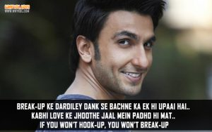 Break-up Tip By Ranveer Singh From Befikre