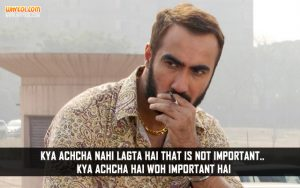 Hindi Movie Inspirational Dialogues | Ranvir Shorey