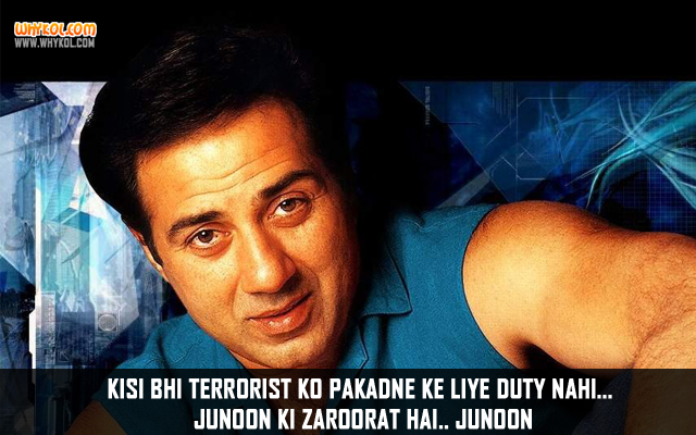 Sunny Deol Dialogues From Farz