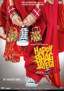 Happy Bhag Jaegi Poster 2016