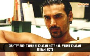 Popular Dialogues From Jism | John Abraham