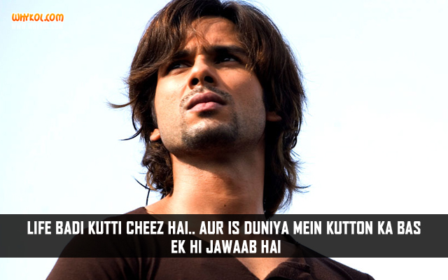 Hindi Life Quotes From Movies | Bollywood Movie Quotes