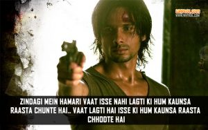Hindi Movie Kaminey Dialogues | Shahid Kapoor