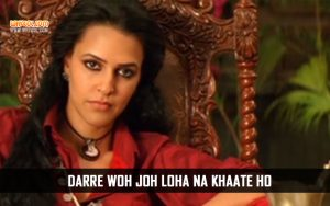 Neha Dhupia Action Dialogues in Phas Gaye Re Obama