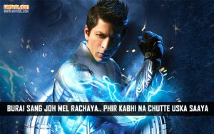 Popular Dialogues Of SRK | Ra One Movie Dialogues