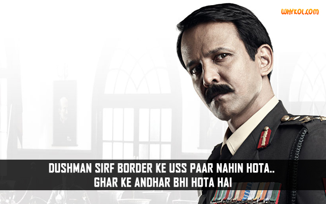 Popular Dialogues From The Movie Shaurya