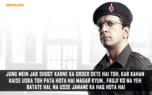 Jave Jaffrey Dialogues From Shaurya