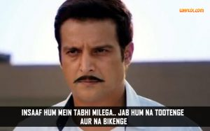Jimmy Shergill Dialogues From Uvaa