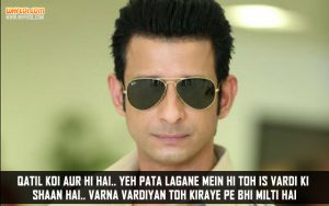 Sharman Joshi Dialogues From Wajah Tum Ho