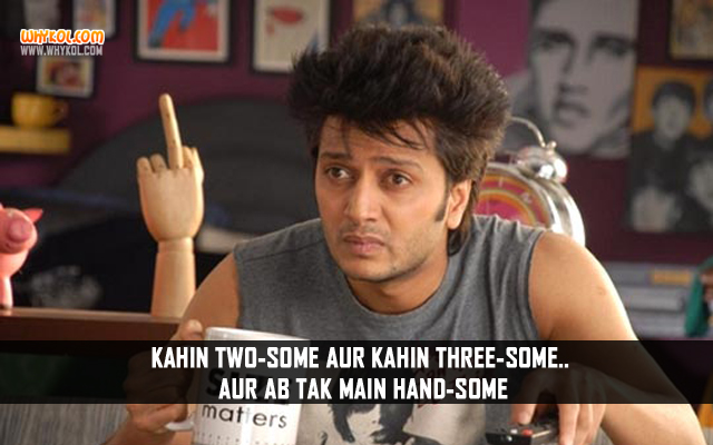 Riteish Deshmukh Adult Comedy Dialogues From Kyaa Super Kool Hain Hum