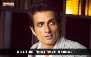 Bbuddah Hoga Terra Baap Hindi Movie Dialogues | Sonu Sood