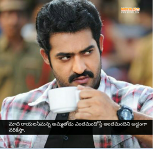 NTR Aadi movie dialogues