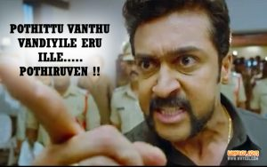 Mass Dialogues Of Suriya From Si3 | Singam 3