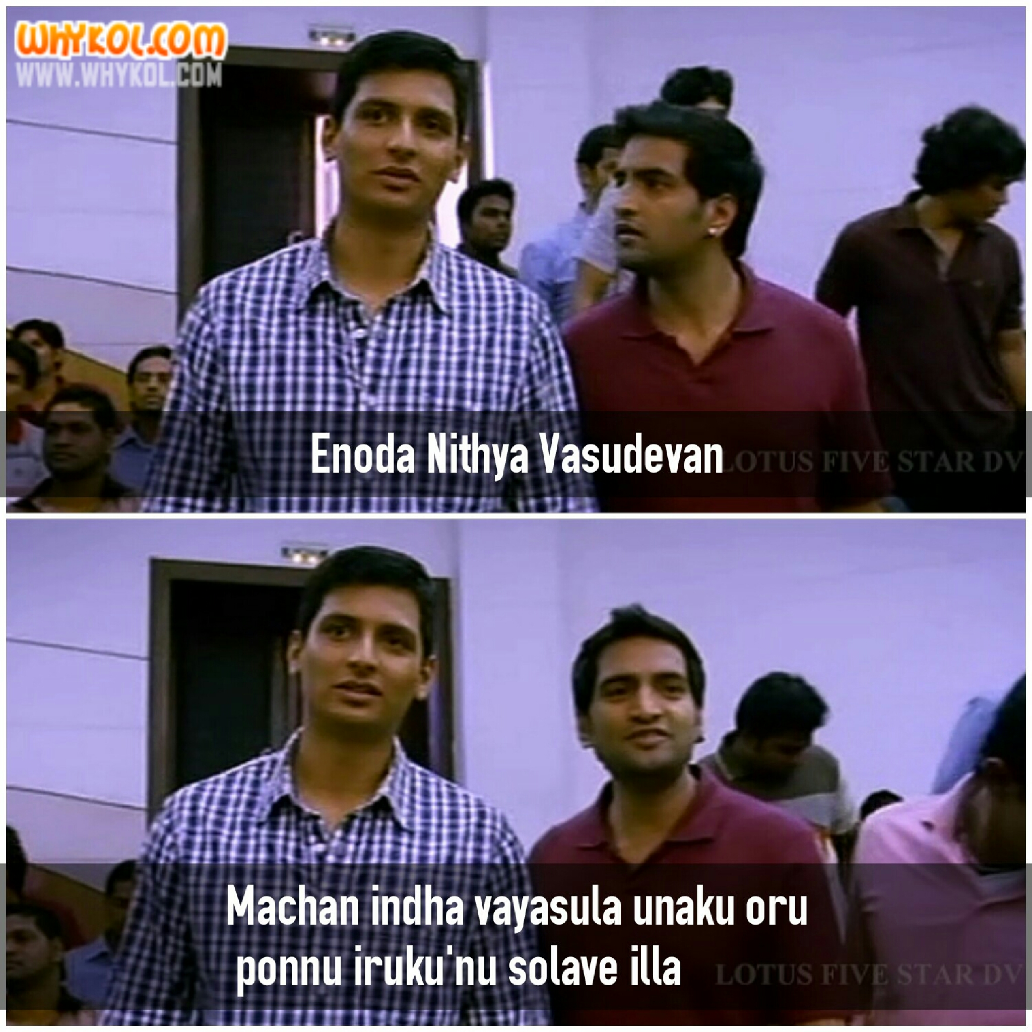 Illa Trol: Santhanam Funny Dialogue From NEP