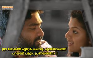 Lijo Mol Jose Dialogues From Honey Bee 2.5