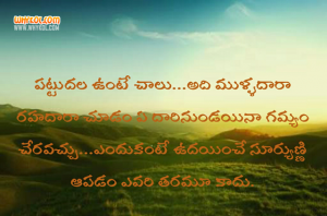 Motivational Life Quotes And Whatsapp Status In Telugu Language Whykol