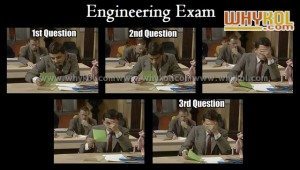 engineering exam funny images