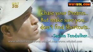 Sachin Tendulkar inspirational dialogue