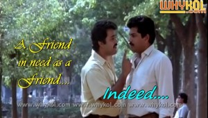 English friendship proverb in malayalam film