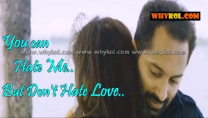 Love quotes in malayalam film