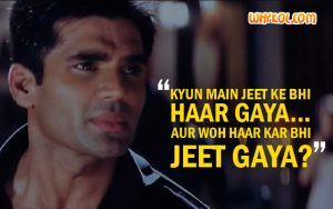 Famous dialogues of Suniel Shetty | Dhadkan