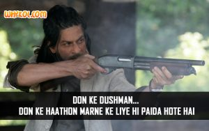 Bollywood Action Dialogues | Don 2 | Shahrukh Khan